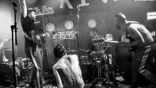 El cuarteto de rock madrileño Kitai.