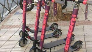 Nuevos patinetes eléctricos en Madrid.