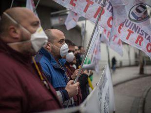 Cuatro actas de infracción y petición de ceses por el amianto en Metro