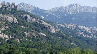 Parque Nacional del Guadarrama, senda de las Formas en La Pedriza