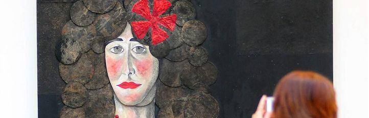 exposición sobre la duquesa de Alba de Alberto romero