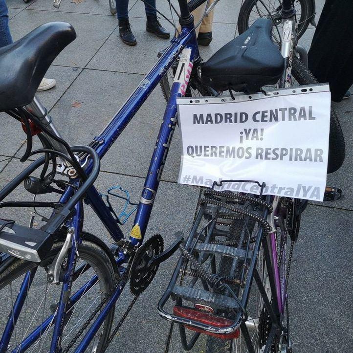 Alrededor de 40 asociaciones muestran su apoyo a Madrid Central
