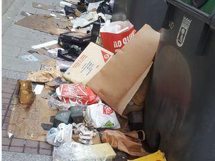 Sindicatos y patronal retoman las negociaciones a horas de comenzar la huelga de basuras