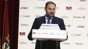 José Luis Ábalos ha participado este lunes en un desayuno informativo organizado por Europa Press