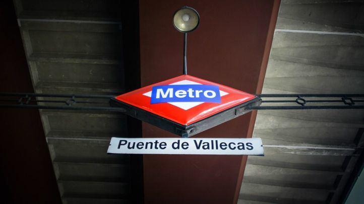 Estación de Puente de Vallecas.