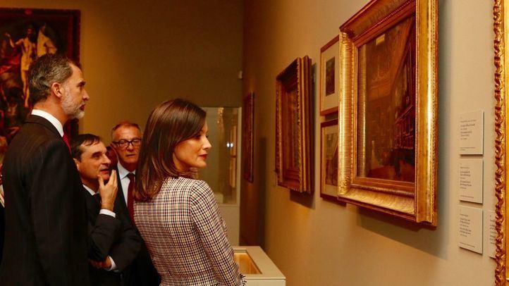 Sus Majestades los Reyes, don Felipe VI y doña Letizia, han presidido el acto inaugural de las celebraciones del Bicentenario de la inauguración del Museo Nacional del Prado.