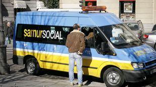 Una ambulancia del Samur Social.