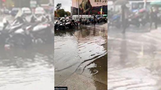 El agua de Colón le vuelve al Ayuntamiento: Canal señala a las hojas como el problema