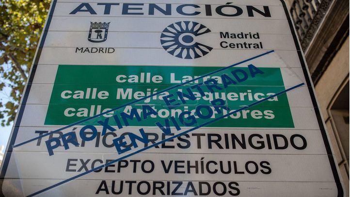 Garrido presentará este miércoles dos recursos contra Madrid Central