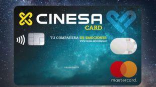 La nueva tarjeta de crédito Mastercard Cinesa.
