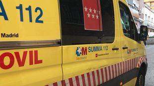 La joven ha sido trasladada al Hospital de Torrejón de Ardoz.