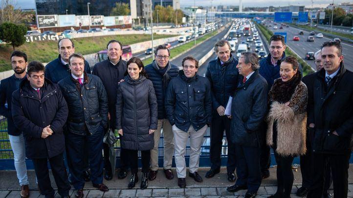 Los municipios del PP, contra la política de movilidad de Carmena