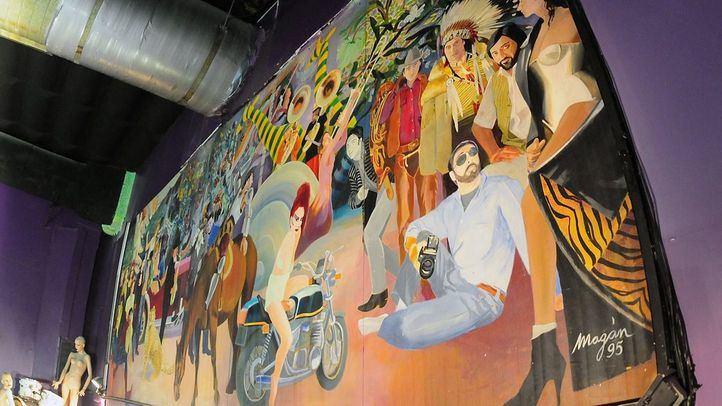 Sala Caracol, mural de la movida madrileña de magán95