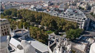 El Ayuntamiento estudia peatonalizar el eje Prado-Recoletos