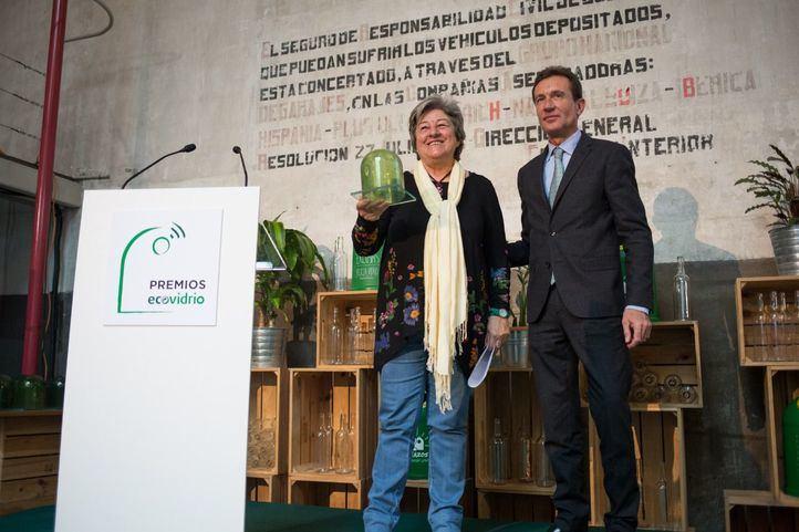Manola Brunet, nombrada Personalidad Ambiental del Año.