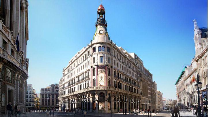 Recreación Centro Comercial Canalejas.