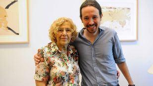 Manuela Carmena presentó este jueves su plataforma Más Madrid, con la que concurrirá a las elecciones al margen de Podemos.