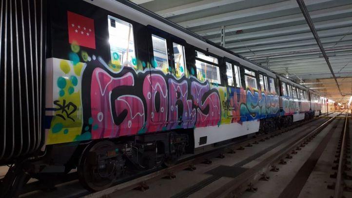 Orden de alejamiento de toda la red de Metro a un grafitero