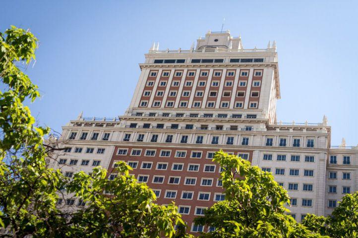 Suspendidas las obras del Edificio España por