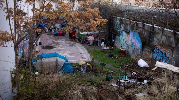 Inseguridad en torno al 'asentamiento itinerante' de Tetuán