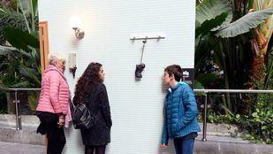Exposición 'Paredes que hablan', en Atocha.