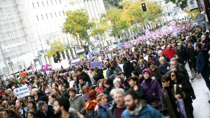 Manifestación por el 25-N.