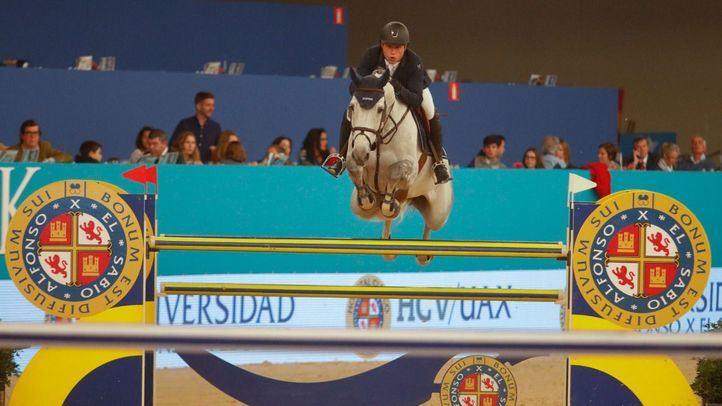 Prueba de clasificación de la Copa del Mundo de Salto Trofeo Universidad Alfonso X el Sabio.