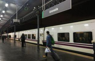 Estación de Renfe en Granada.