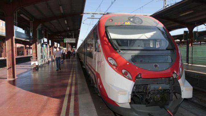 Sin servicio en la C-9 entre Cercedilla y Navacerrada