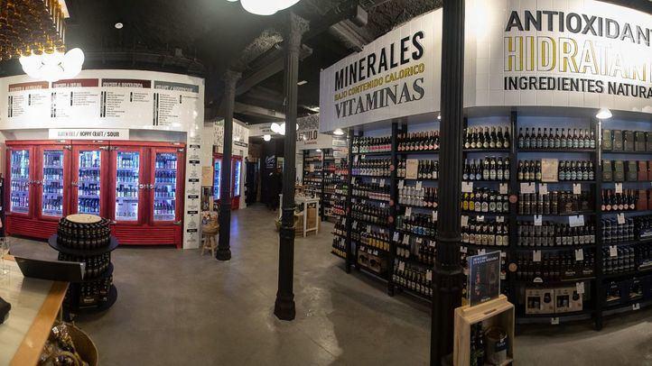 Mahou San Miguel ha abierto una nueva tienda La Cervecista en la calle Mejía Lequerica.