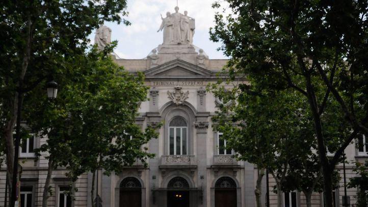 Edificio sede del tribunal Supremo perteneciente al conjunto arquitectónico del convento de las Salesas Reales.