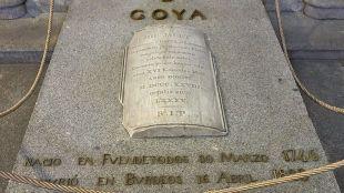 Tumba de Goya en San Antonio de la Florida.