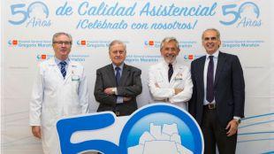 Jornada conmemorativa del 50 aniversario del Hospital Gregorio Marañón.