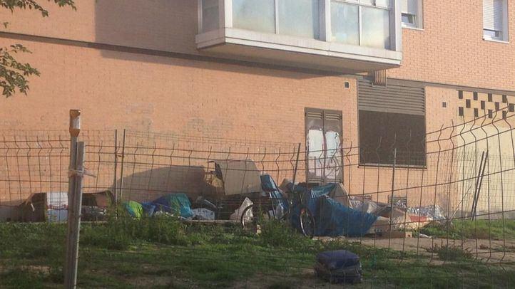 A última hora del miércoles la Policía les obligó a abandonar el lugar elegido tras el último desalojo.