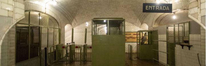 El ascensor del Metro de Gran Vía se desploma 'de un chispazo'