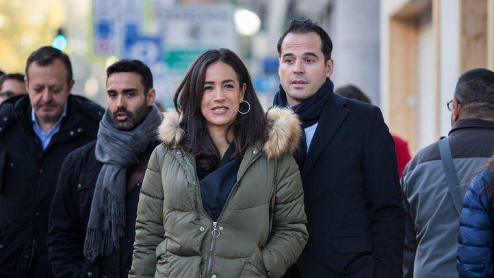 Los portavoces de Ciudadanos en el Ayuntamiento y la Comunidad de Madrid valoran el impacto de la puesta en marcha de Madrid Central en uno de los puntos de la APR.