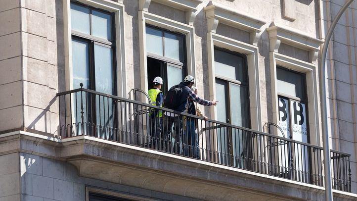 Las obras en el edificio España empezaron hace un año