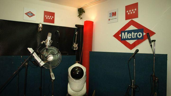 Local de ensayo en el metro de Usera.