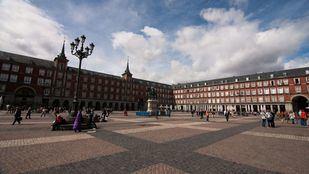 La primera piedra de la Plaza Mayor se puso el 2 de diciembre de 1617.