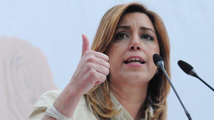 Susana Díaz, candidata a las elecciones de Andalucía por el PSOE-A.
