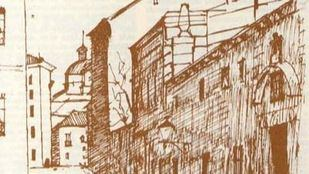 Dibujo de la calle Sacramento.