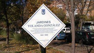 La placa fue colocada el pasado 18 de noviembre.