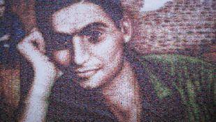 Mural 'Homenaje a Robert Capa'.