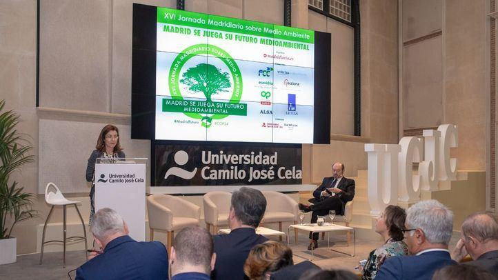 Ponencia de Paz Valiente, coordinadora general de Medio Ambiente del Ayuntamiento de Madrid.