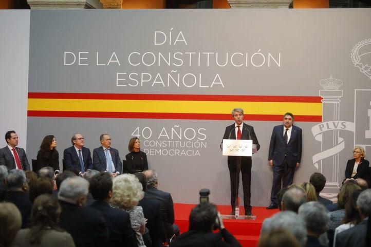 """Garrido propone endurecer la Constitución ante """"el soberanismo y las posiciones extremistas"""""""
