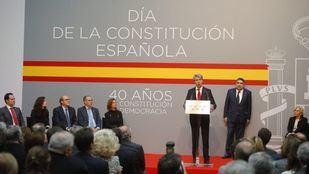 Ángel Garrido ha realizado un discurso en el que ha puesto a Madrid como ejemplo del desarrollo del autogobierno.