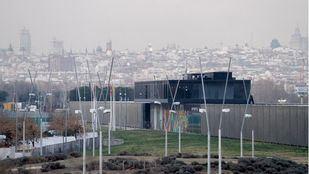 Vistas de Madrid desde la Caja Mágica.