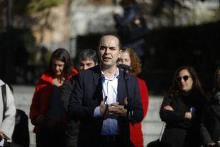 José Manuel Calvo, en la presentación de Madrid Central