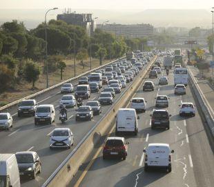 Primeros problemas de circulación en las vías madrileñas