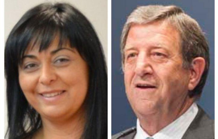 María Luz Lastas y Luis María Partida